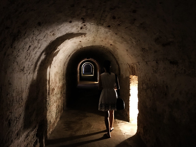 Inside Castillo de San Cristobal