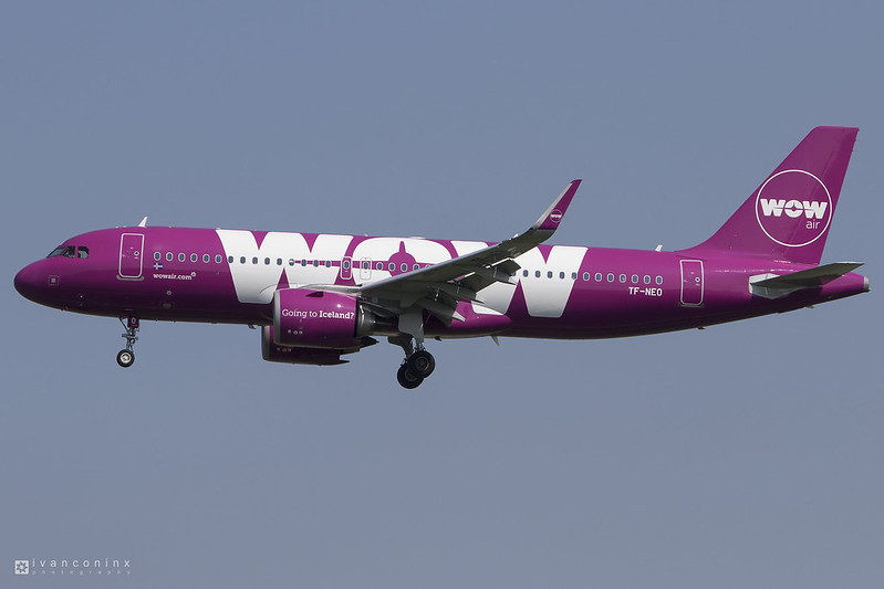 Airbus A320-251N – WOW Air – TF-NEO – Brussels Airport (BRU EBBR) – 2017 06 02 – Landing RWY 25L – 02 – Copyright © 2017 Ivan Coninx