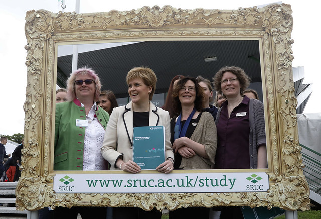 First Minister at the Royal Highland Show