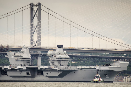 HMS Queen Elizabeth starts sea trials