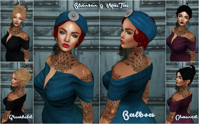 Bliensen + MaiTai - Hair Fair 2017