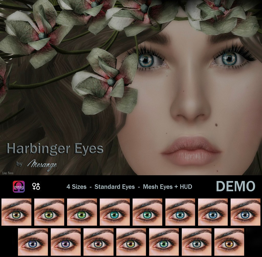 MESANGE - Harbinger Eyes for We <3 Roleplay - SecondLifeHub.com
