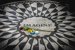 Imagine, John Lennon, Strawberry Fields, Central Park, New York City