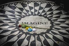 Imagine, John Lennon, Strawberry Fields, Central Park, New York City