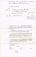 Summons served 26th October 1882, to Jack Limmer Sparkall, Wicklewood, Norfolk, Farmer  p3