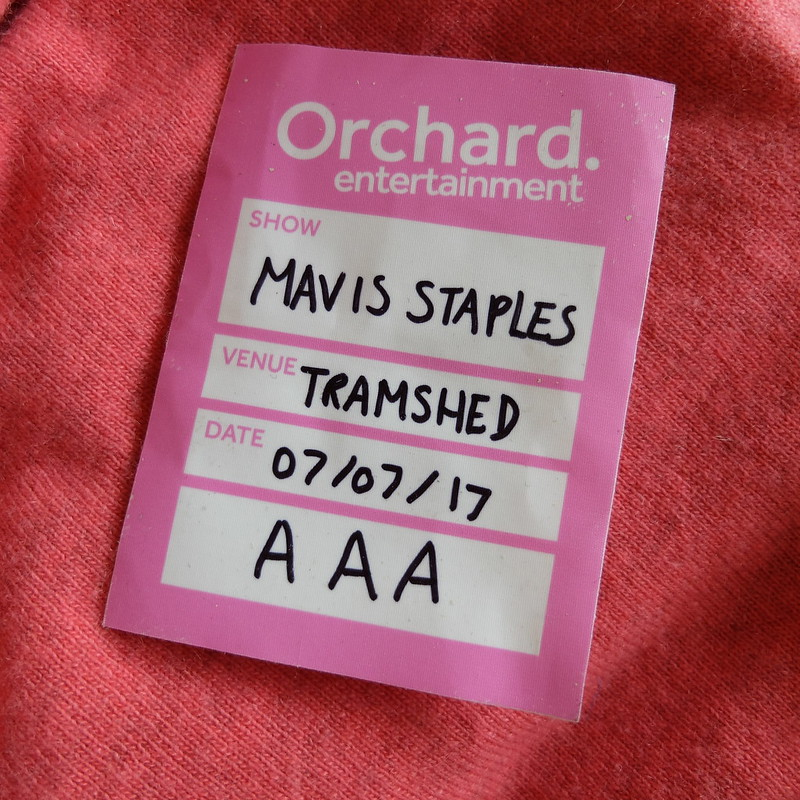 Mavis Staples Tramshed @porcelinasworld