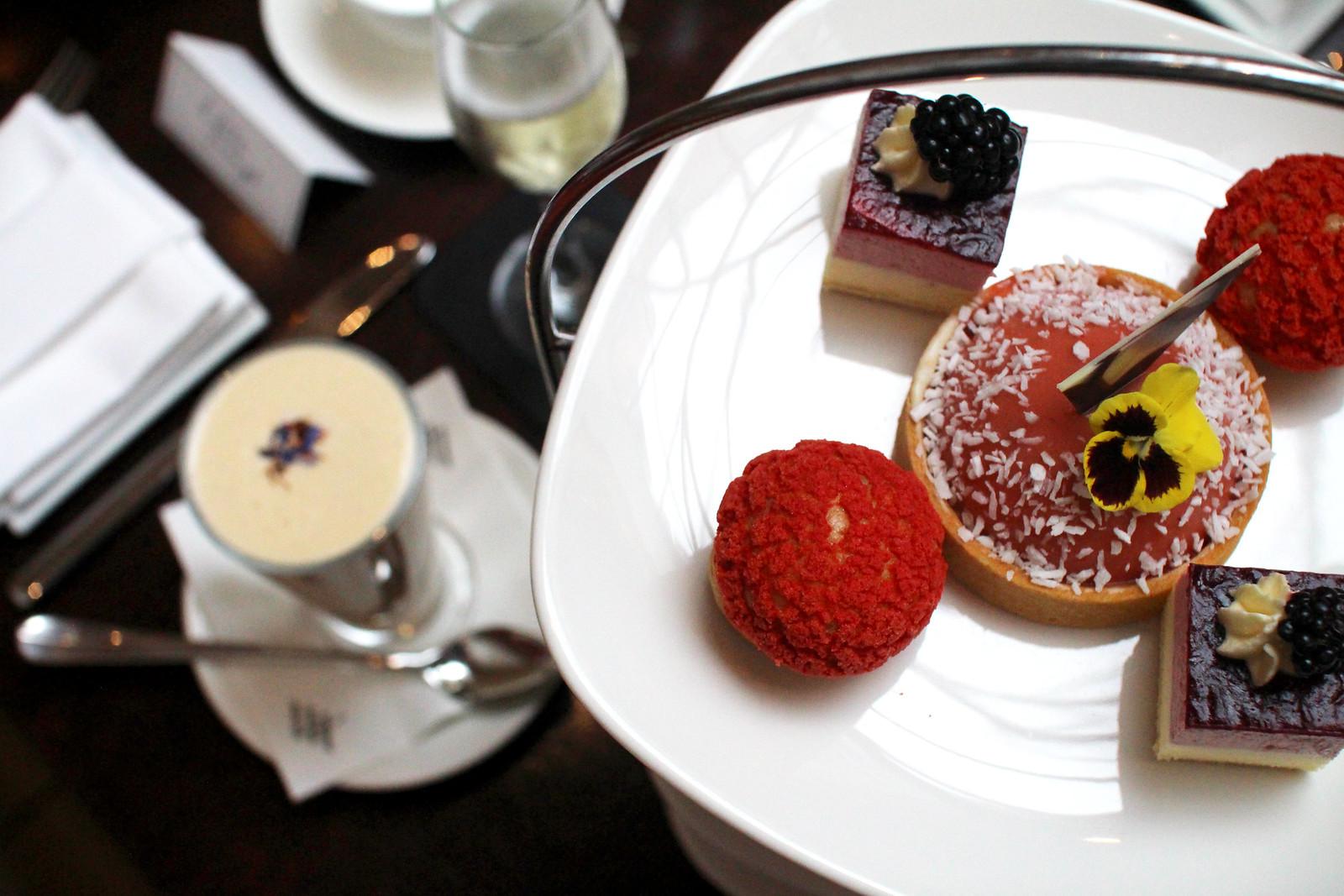 Waldorf Astoria Calton Hotel Peacock Room Afternoon Tea Summer 2017 Blogger Lifestyle Review Edinburgh UK