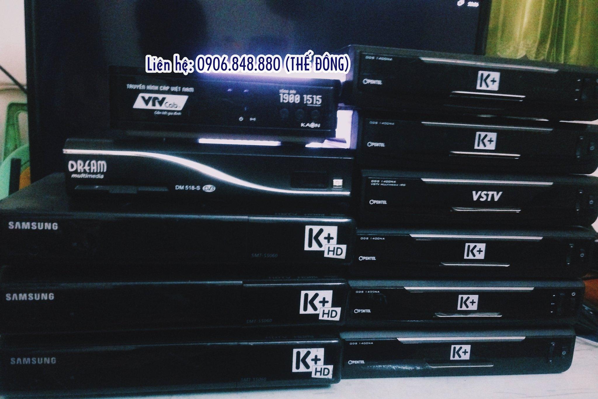 ĐẦU THU K+ HD CŨ