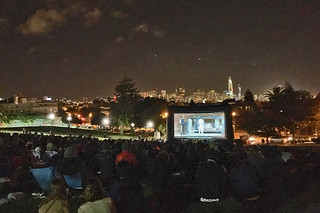 Film Night in the Park - Dolores Park Austin Powers movie ending
