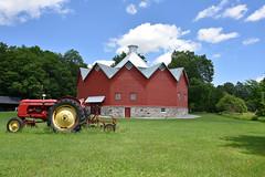 Round barn, Mystic Qc. Canada