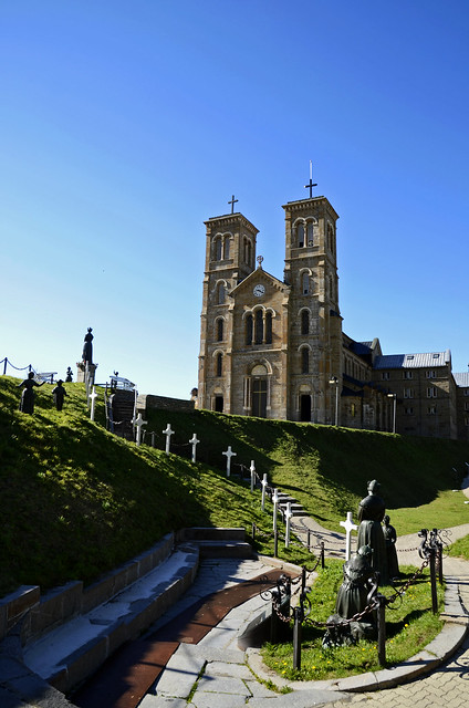 External of Notre-Dame de La Salette