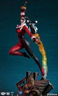Sideshow Collectibles × Tweeterhead【小丑女哈莉.奎茵】Harley Quinn Maquette 全身雕像作品