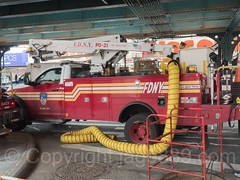 FDNY Plant Ops Lift Truck, Foxhurst, Bronx, New York City