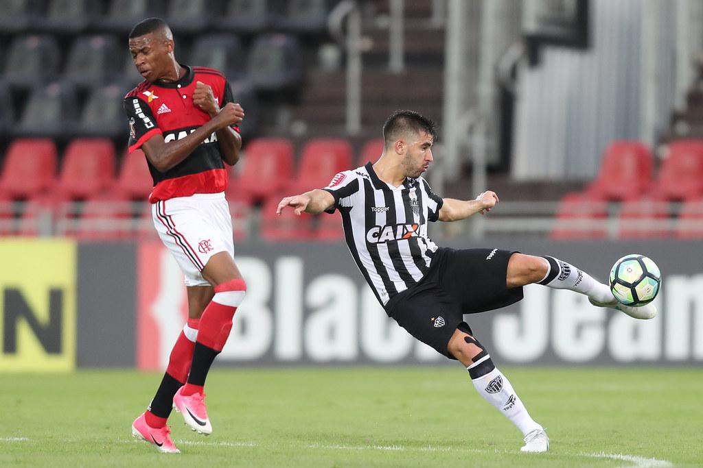 154eec69c6c06 Final da Copa do Brasil Sub-20 Flamengo x Atlético Mineiro. Lucas  Figueiredo