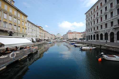 trieste canale italy canalegrande