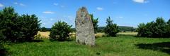 Le menhir dit « La Pierre Longue » près d'Iffendic - Ille-et-Vilaine - Juin 2017 - 05 - Photo of Boisgervilly