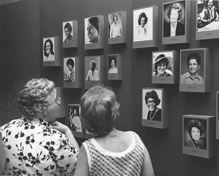 "Photograph of Reception for the ""Her Infinite Variety: a 200 Year Record of America's Women"" Exhibit"