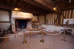 Intérieur reconstitué d'une ferme du XVe siècle