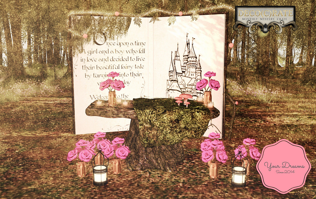 {YD} Enchanted forest wedding - TeleportHub.com Live!