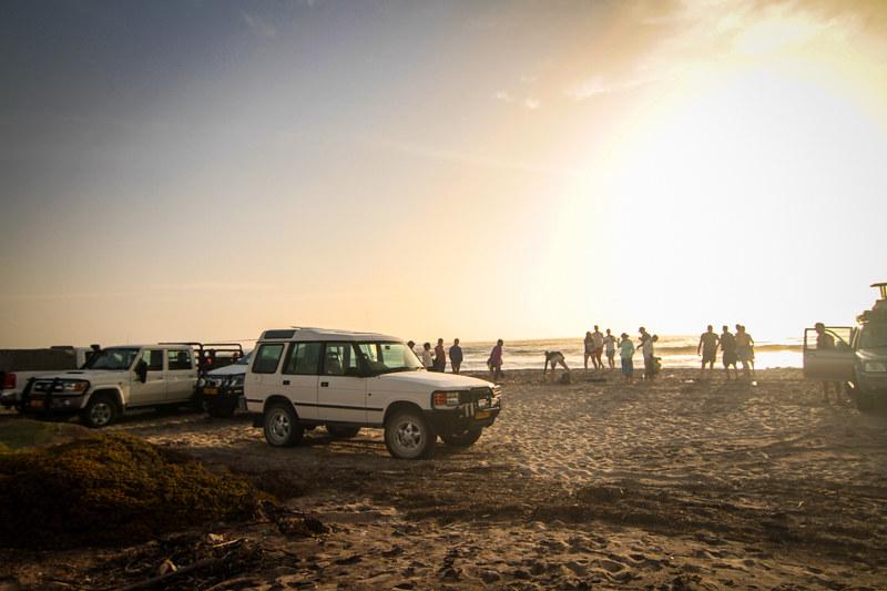 Swakopmund Küste Strand Namibia Afrikanisches Flair