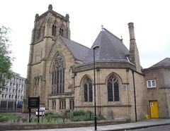 Photo of John Dobson and Jesmond Parish Church, Newcastle upon Tyne black plaque