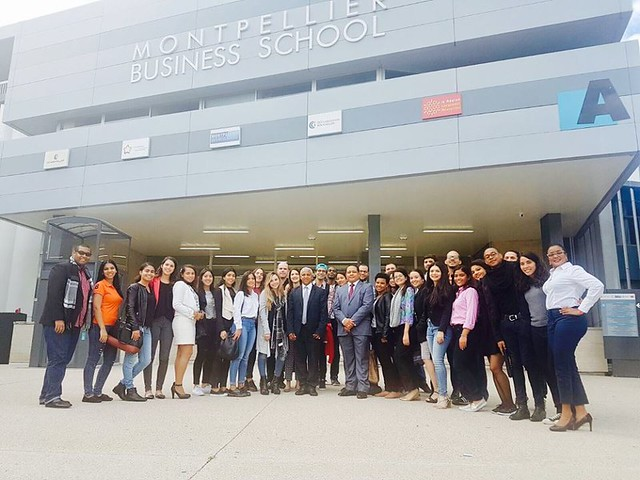 Visita a la Escuela de Negocios Montpellier Business School