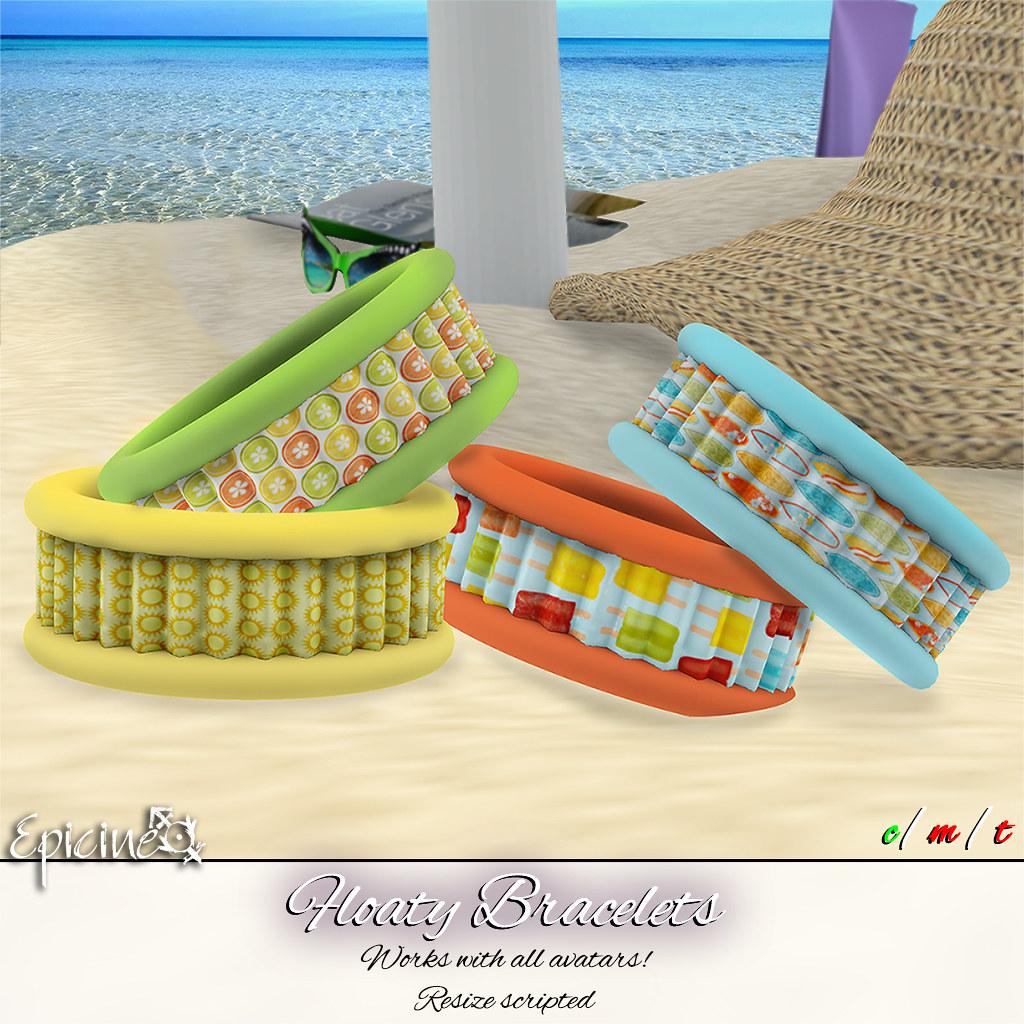 Epicine - Floaty Bracelets - SecondLifeHub.com