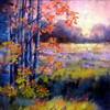 Edge of Dawn, Chalk Pastel, Theresa Potter