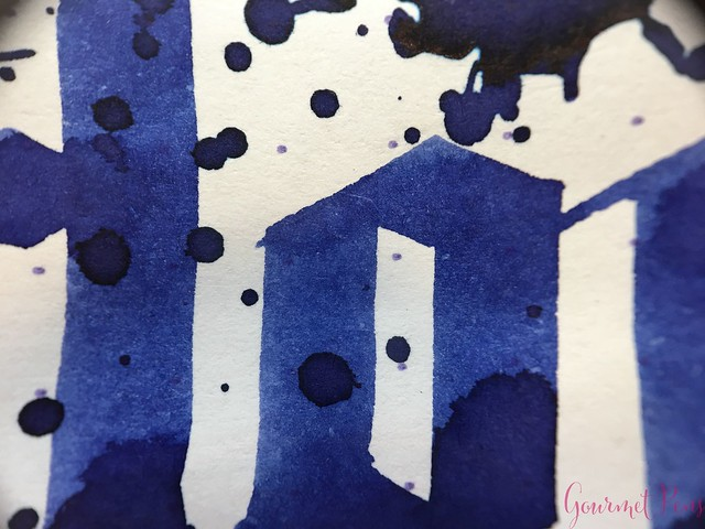 Ink Shot Review Diamine Anniversary Tudor Blue @AppelboomLaren 10