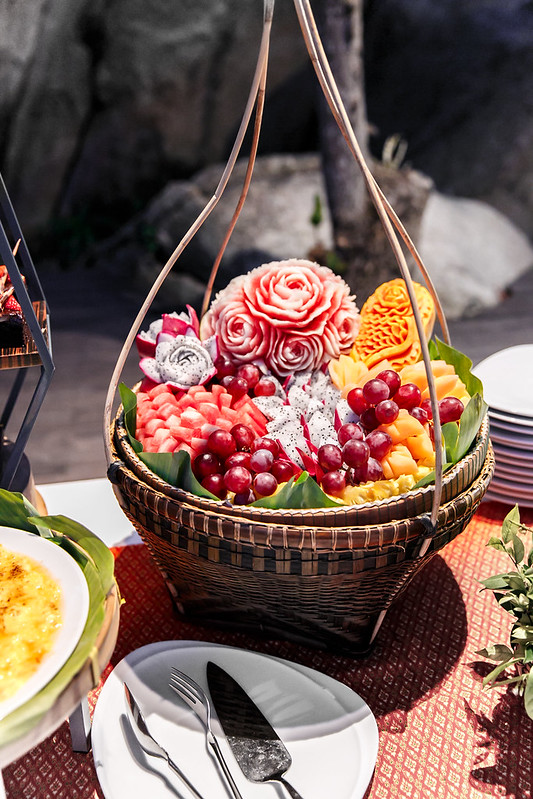 fresh fruit in Ko Samui, best desserts in Ko Samui, the luxury collection, Starwood hotels and resorts, SPG