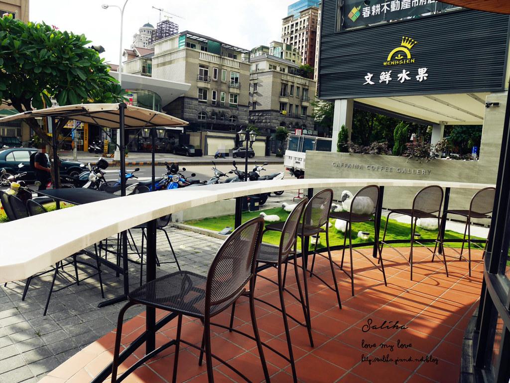 台中西屯區下午茶推薦卡啡那惠來店 咖啡廳念書聚會看書 (3)