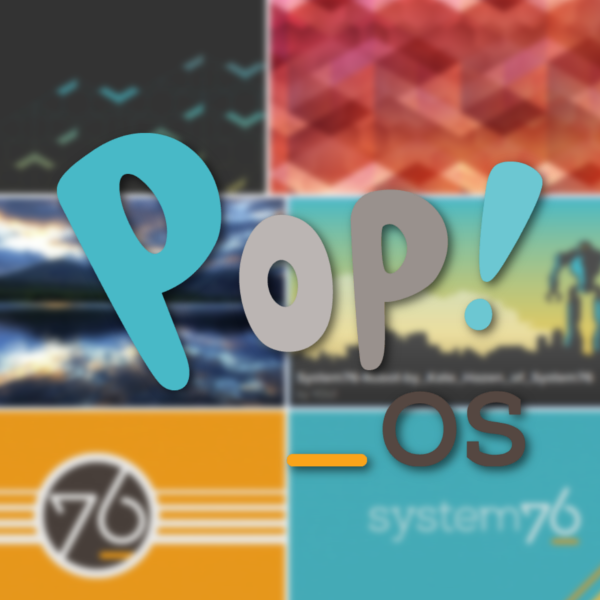 Default Wallpapers : POP! OS