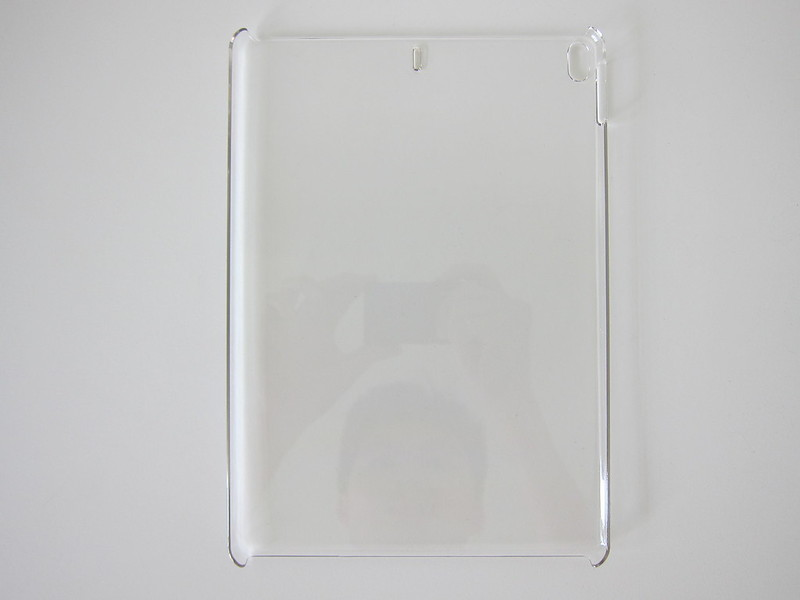 Elecom iPad Pro 10.5 Inch Clear Back Cover - Front