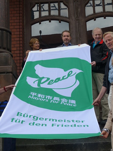 Flaggentag der Bürgermeister für den Frieden 2017