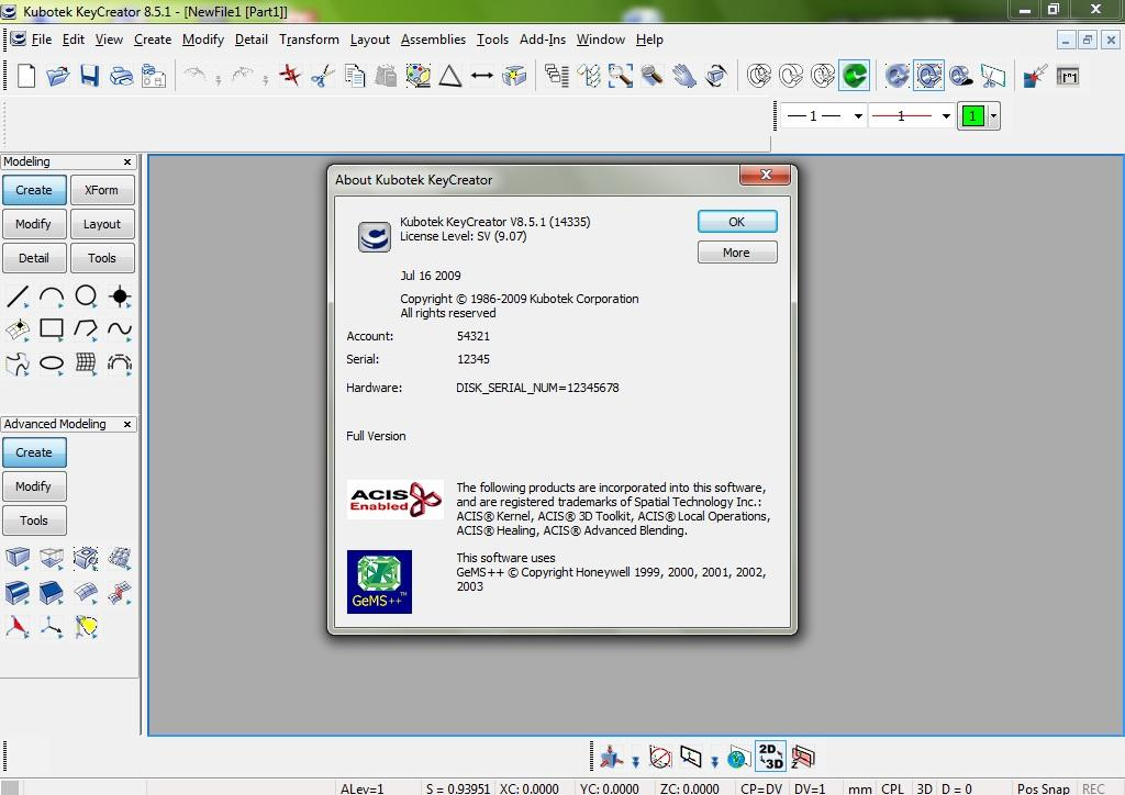 Working with Kubotek KeyCreator v8.5.1.14225 full