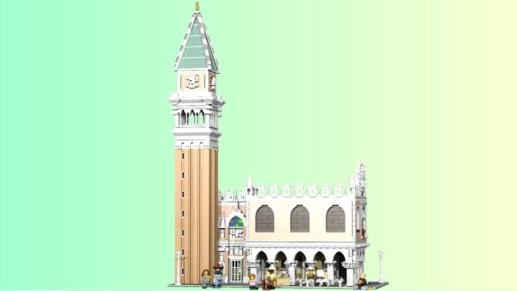 Resultado de imagen de lego piazza san marco