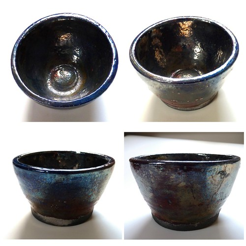 Raku pot Collage