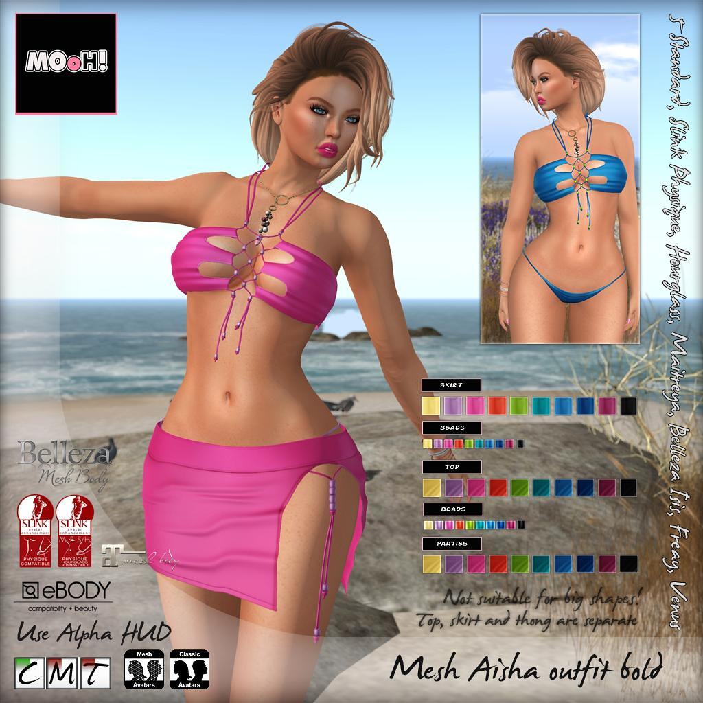 Aisha outfit bold - SecondLifeHub.com