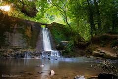 Wepre waterfall