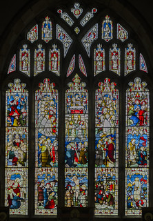 Ticehurst, St Mary's church, East window