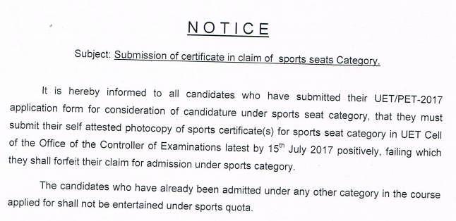 BHU Sports Seats