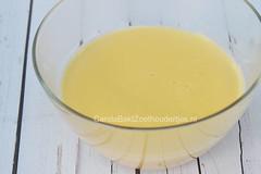 Custard  maken met verse eieren