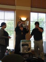 6/24/17 - Westlake Recreation Center: Michelle, Jeannette, Fetus John, and Stefan