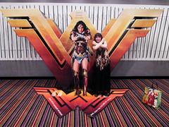 Wonder Woman Battle Armor Standee Lisa 18110
