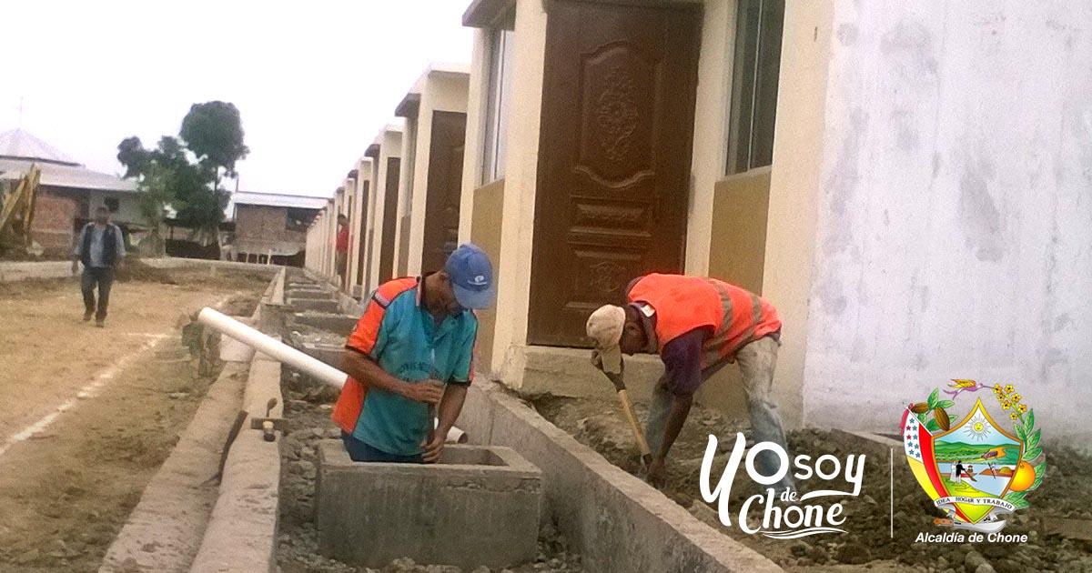 La Alcaldía continúa con los trabajos en el reasentamiento del Club de Leones Ecuador