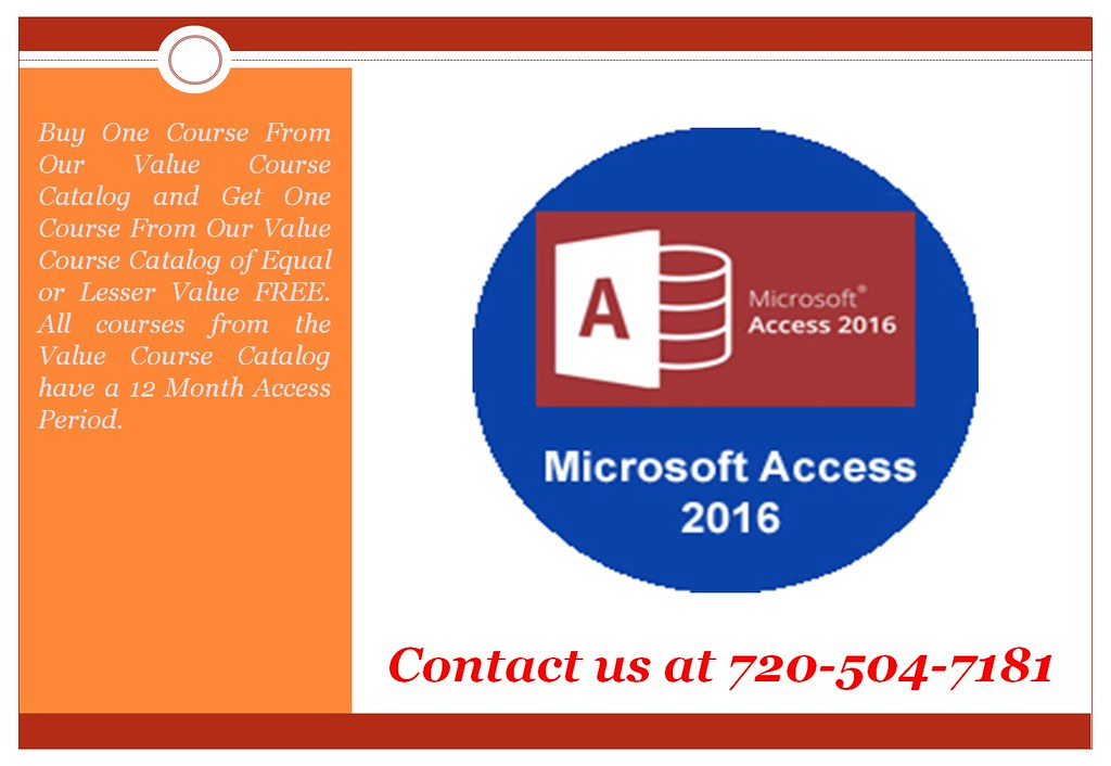 microsoft access 2016 training