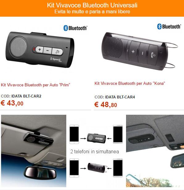 Kit Vivavoce Bluetooth per Auto