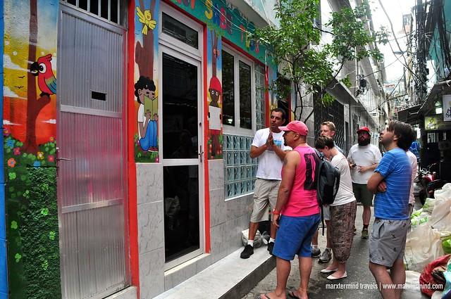 A School in Rocinha Favela