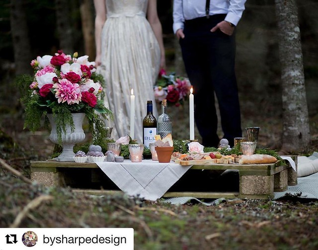 #Repost @bysharpedesign (@get_repost) ・・・ Photography: Victoria Jean Photography Décor + Silk Floral + Stationery: By Sharpe Design Dress: Rodney Philpott Designs Hair + Makeup: Hair & Makeup Artistry by Emily Accessories: Velvet Snow Accessories Cake + C