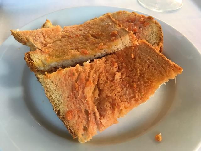 Pan con tomate - Bosque Palermo